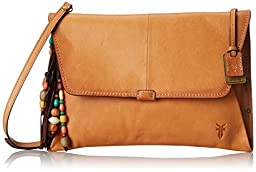FRYE Hillary Envelope Clutch, Natural, One Size