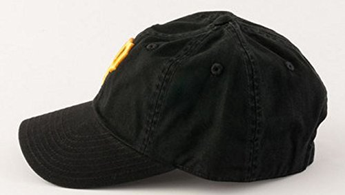 American Needle MLB Pittsburgh Pirates Black Team BallPark Adjustable Cap