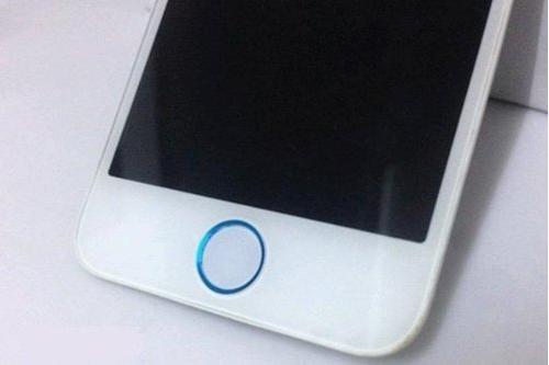 iPhone 5 専用 ホーム ボタン 修理 リペア パーツ ホワイト ブラック x ゴールド シルバー ライトブルー の 組み合わせ (ホワイト x ライトブルー クリーニング クロス 付き)