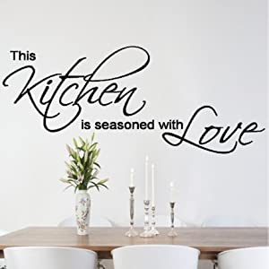 quote kitchen dining room wall sticker wall art vinyl wall decal wall