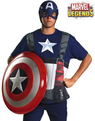 Disguise Inc - Captain America Adult Costume Kit