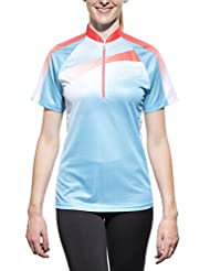 Löffler Active short fashion jersey women Ladies HZ blue 2015