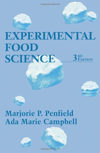Experimental Food Science, Third Edition (Food Science...