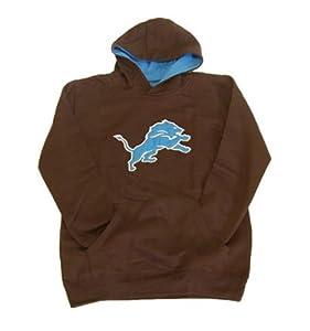 Detroit Lions Youth Sportsman Fleece Hooded Sweatshirt by Unknown