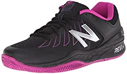 New Balance Women\'s WC1006v1 Black/Pink 7.5 D - Wide