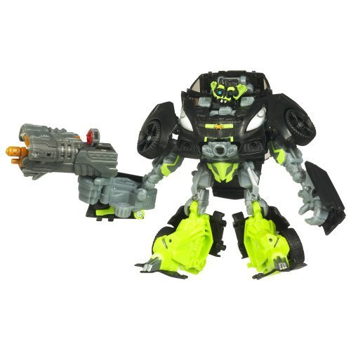 Transformers 3: Dark of the Moon Movie Deluxe Class Figure Autobot Skids by Hasbro TOY (English Manual)