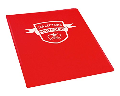 Portfolio 9-Pocket Standard-Size Red Card Game