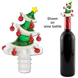 Bottle Topper Christmas Tree Wine Accessories