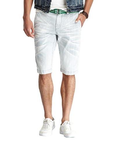 Stitch's Men's Whiskered Denim Shorts