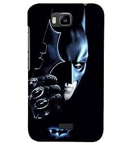 PRINTSHOPPII BATMAN Back Case Cover for Huawei Honor Bee::Huawei Y5C