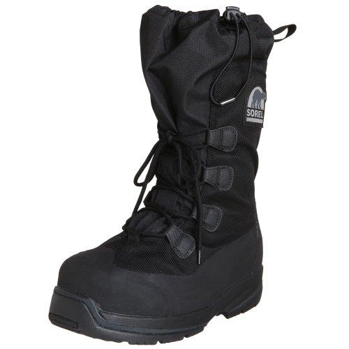 Sorel Men's Intrepid Explorer 100 Snow Boot,Black,11 M US