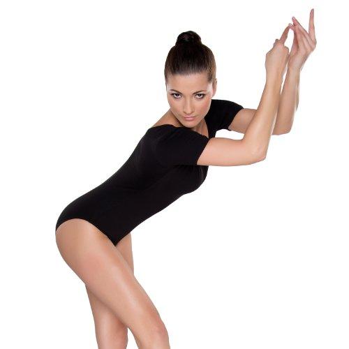 Shepa Damen kurzarm Gymnastikanzug Ballettanzug