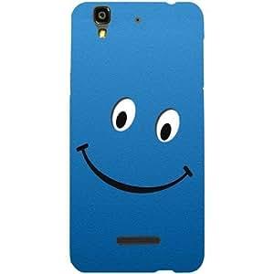 Casotec Happy Design Hard Back Case Cover for YU Yureka Plus