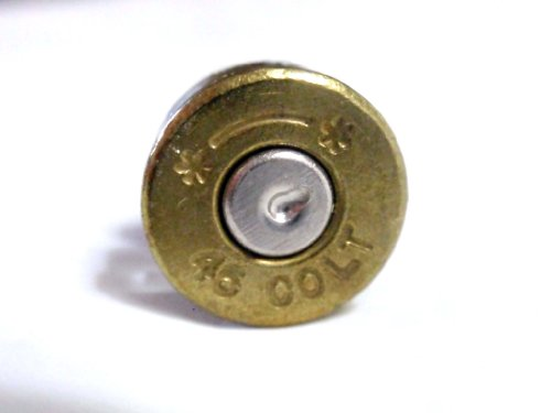 Colt 45 Starline genuine Bullet Casing tie tack,