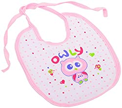 KEROKID Unisex-Baby Cotton Bibs (Multi-Coloured)