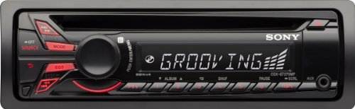 Sony CDXGT270MP CD/MP3 Car Stereo Receiver with Front Aux Input