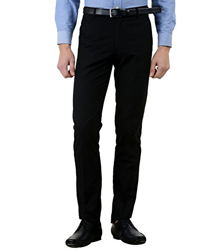 American-Elm-Mens-Basic-Cotton-Formal-Trouser