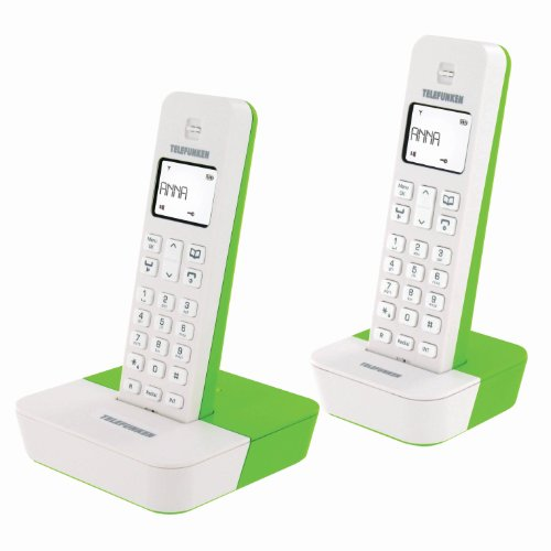 Tlphone GSM TELEFUNKENTB302BLANC VERTDUO