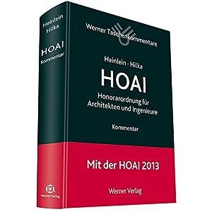 Taschenkommentar HOAI (Werner Taschenkommentar)