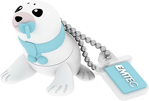 Emtec PenDrive 8GB, Baby Seal, Multicolore