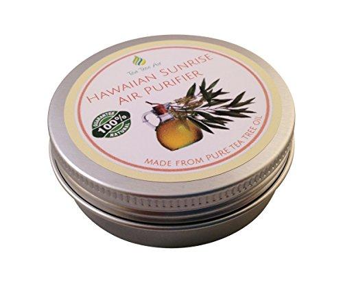 Tea Tree Air Purifier Hawaiian Sunrise (2.2oz) ✔ Coconut Air Purifier Cream, Kills Mold, Attacks Mildew, Car Air Freshener, Air Conditioner - Ideal for kitchen, bathroom, car. ON SALE $13.95 ✔ (Car Air Freshener Organic compare prices)