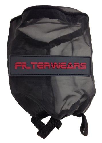 FILTERWEARS Black Water Repellent Pre-Filter K321K Fits K&N Air Filter RU-1460 HONDA ATC250R; TRX250 FOURTRAX