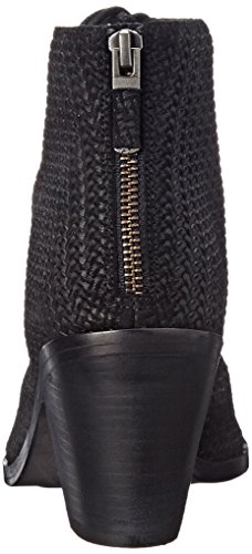 Eileen Fisher Women's Slew Boot, Black Woven, 7 M US