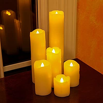 Lily's Home LED Candle, Set of 6