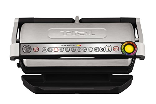 Lowest Price! T-fal GC722D53 1800W OptiGrill XL Stainless Steel Large Indoor Electric Grill with Rem...