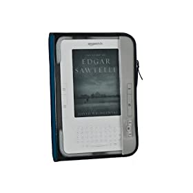 "M-Edge Leisure Kindle Jacket (Fits 6"" Display, Latest Generation Kindle), Navy/Gray"