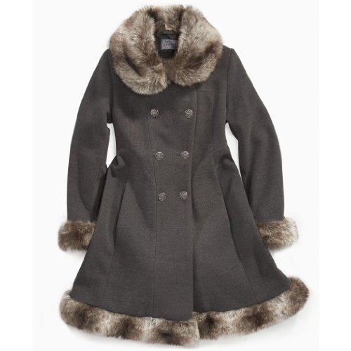 Coats On Sale: Best Price with Rothschild Girls Faux Fur Trimmed