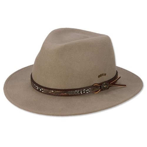 a9ad5e87424 Orvis Men s Wool And Pheasant Fedora   Fur And Pheasant Hat