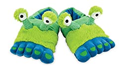 Rich Frog Funky Feet Slippers - Alien Feet