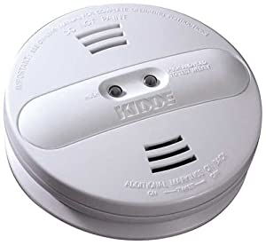 kidde pi2010 smoke alarm dual sensor with battery backup white. Black Bedroom Furniture Sets. Home Design Ideas