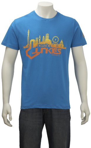 Joystick Junkies Mens T-Shirt Joystick City Profile  Dresden Blue Jci-Busmxx Small