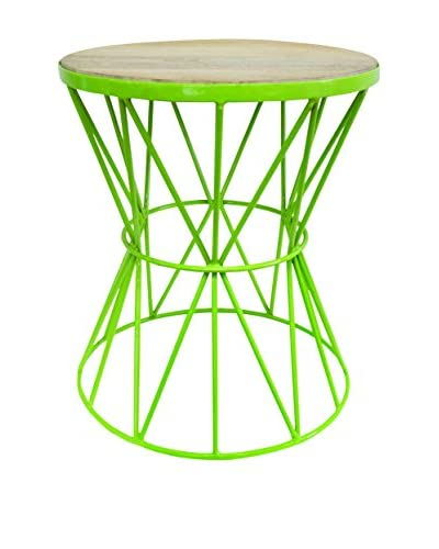 Couture Santa Monica Table, High Gloss Green