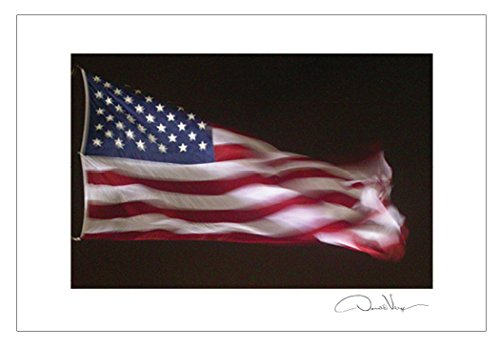 American Flag Postcard Prints. 10 Pack. Best Quality Gifts, Birthday Cards, Thank You Notes & Invitations. Unique Christmas and Valentine's Day Gifts for Women, Men and Kids of All Ages (Easter Seals Calendar 2015 compare prices)