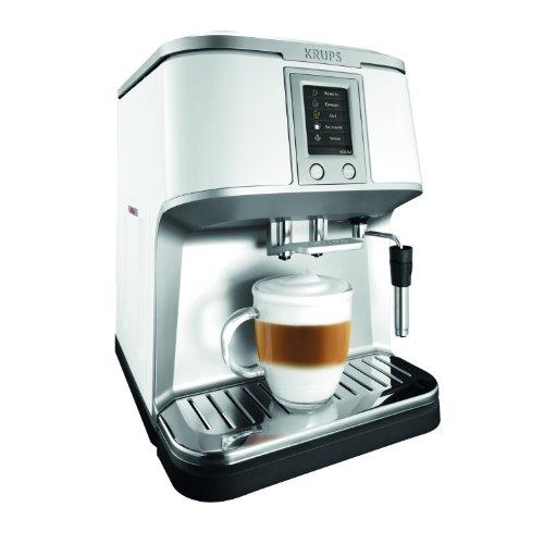 Krups EA 8421 Kaffee-Vollautomat  (1.7 l, 15 bar, externes Milchsystem, Touchscreen-Farbdisplay) thumbnail