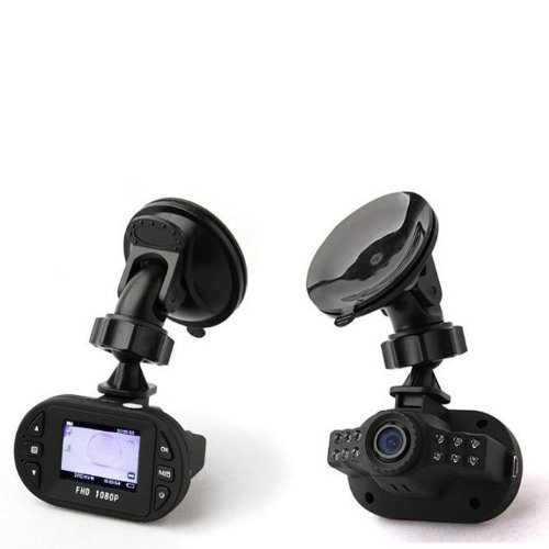 Generic Mini Size Full HD 1920*1080P 12 IR LED Car Vehicle Recording CAM Video Camera C600 Recorder Car DVR