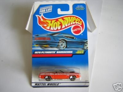 Mattel Hot Wheels 1999 1:64 Scale Orange 1970 Plymouth Barracuda Die Cast Car Collector #1063