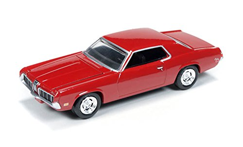 Auto World 1970 Mercury Cougar 1:64 Die cast Car - Red