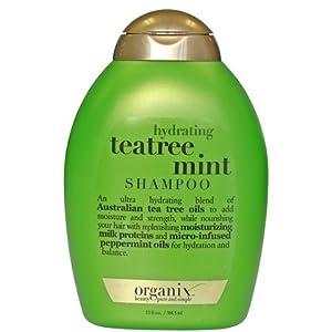 Organix: Hydrating Teatree Mint Shampoo, 13 oz