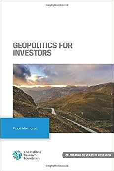 Geopolitics For Investors