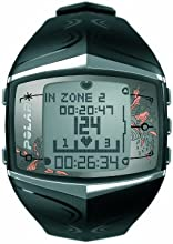 Polar FT60 Heart Rate Monitor Watch (Black)