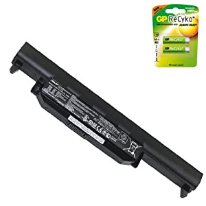 Powerwarehouse Asus A55VD-NS51 Laptop Battery - Genuine Asus A32-K55 Battery 6 Cell