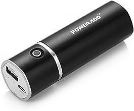 Poweradd Slim 2 5000mAh Cargador Móvil Portátil Batería Power Bank para Iphones Smartphones de Android Reproductor de MP3 Cámaras Digitales y Más-Negro