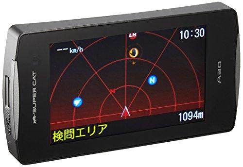 ユピテル(YUPITERU) レーダー探知機 小型オービス対応リモコン付 一体型 A30