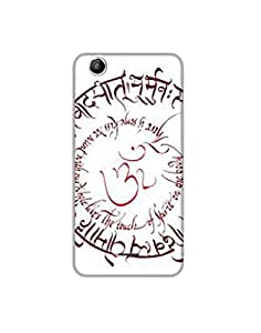 Micromax Canvas Selfie Q345 nkt-04 (31) Mobile Case by Mott2 - Gayatri Mantra... (Limited Time Offers,Please Check the Details Below)