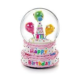 2014 Happy Birthday Water Globe Happy Birthday 5.75\