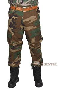 Us Military Air Force Navy Army Combat Mens Tactical Uniform Trousers Woodland by GZ SIVI